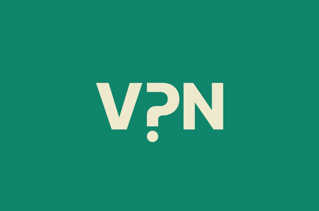 VPN with a question mark.