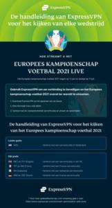 Infographic: De beste manieren om de EK 2021 te streamen
