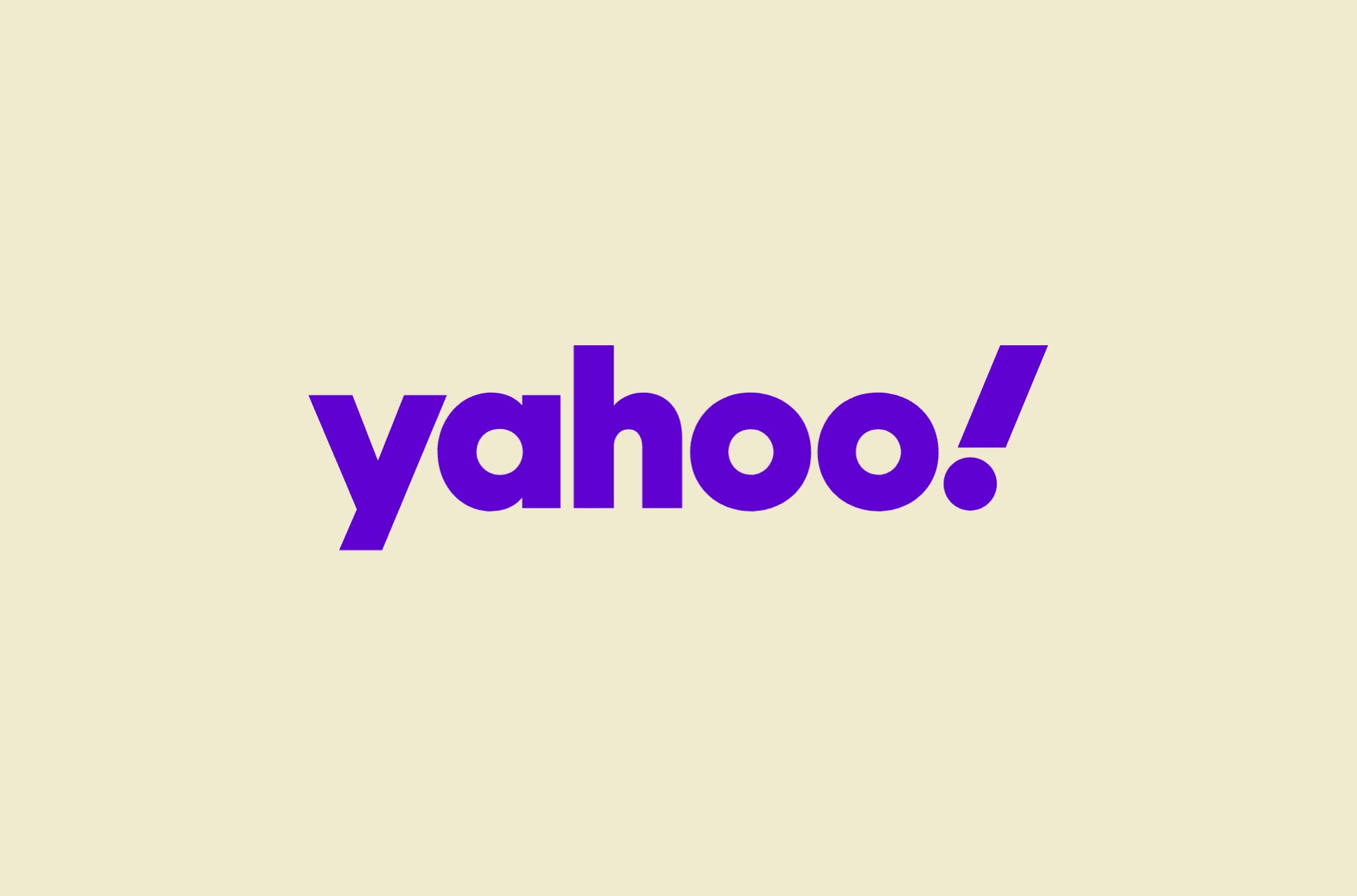 Yahoo logo.