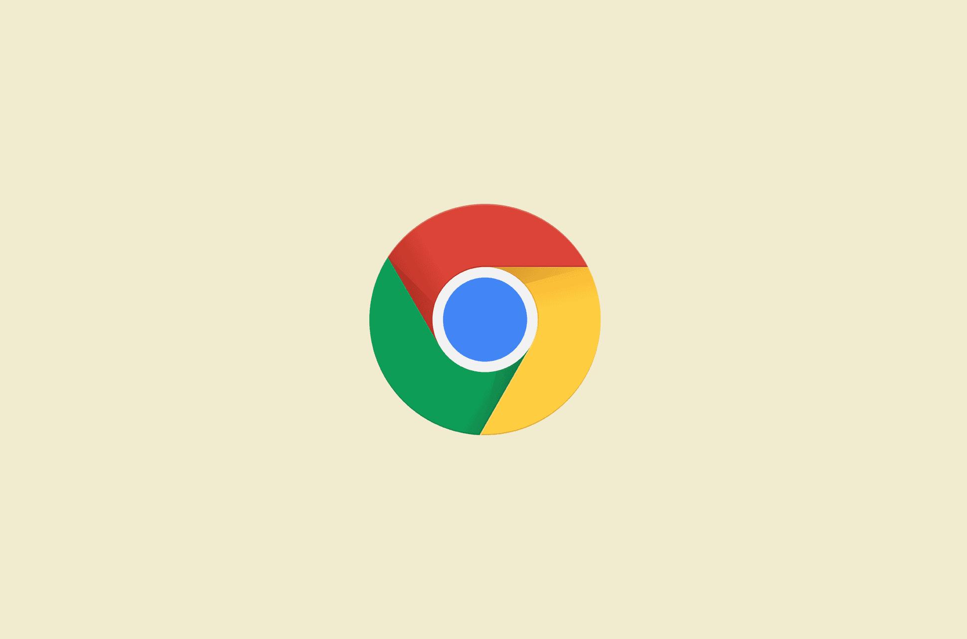 Chrome browser logo.