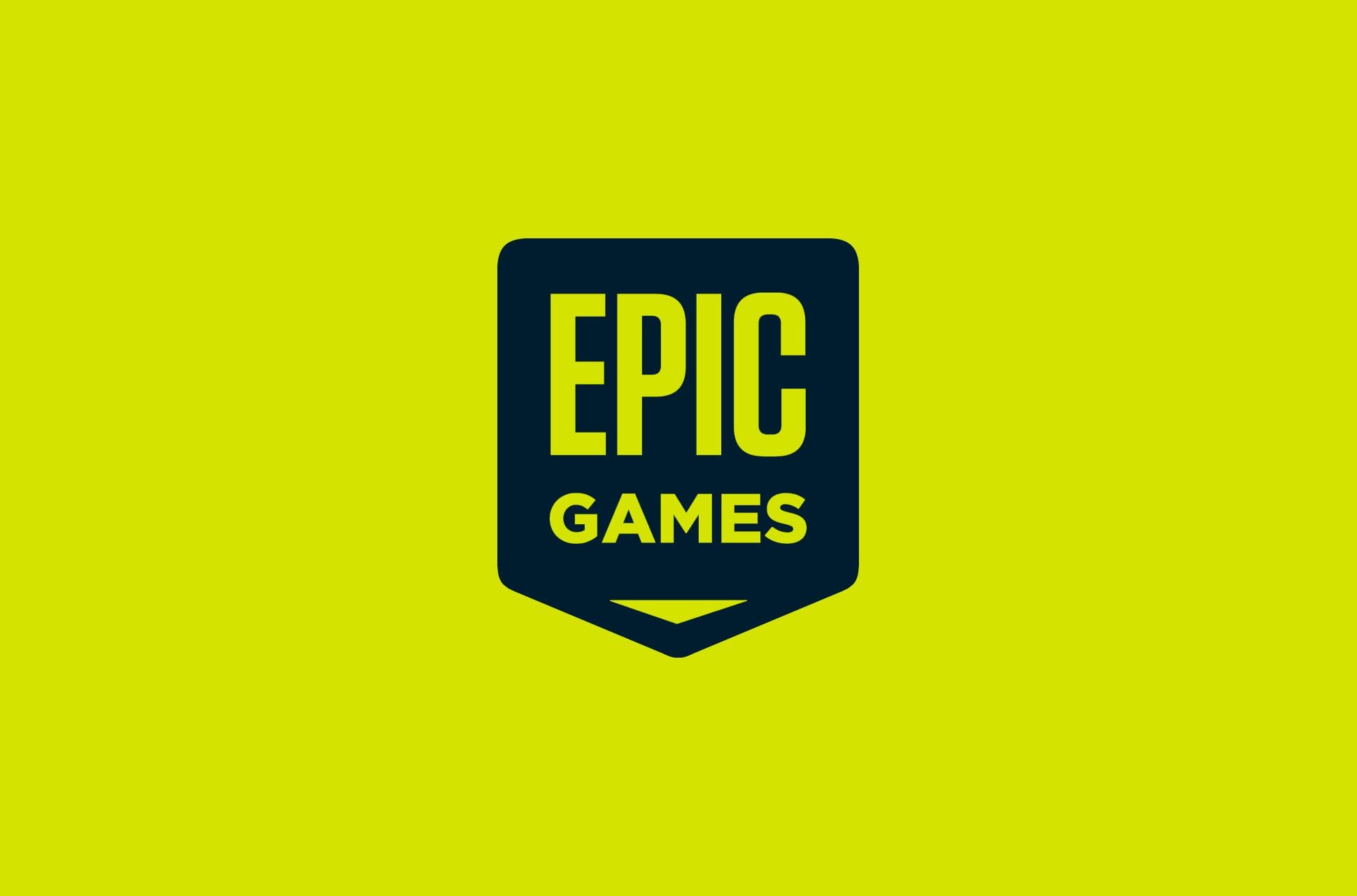 Epic Games logo.
