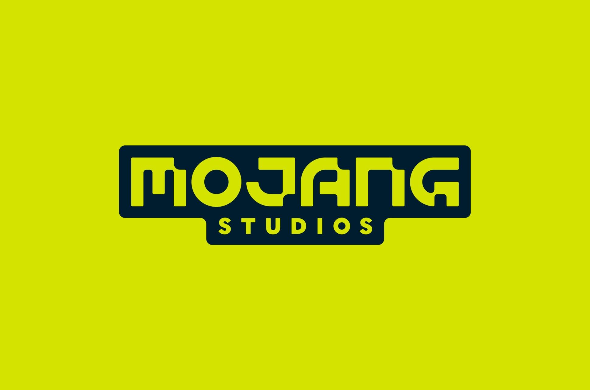 Mojang Studios logo.