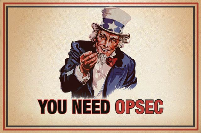 OPSEC is an important part of secure communications