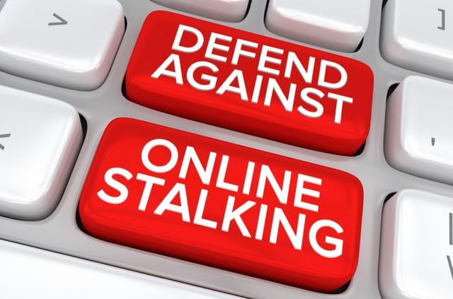 How to protect yourself from online stalking.