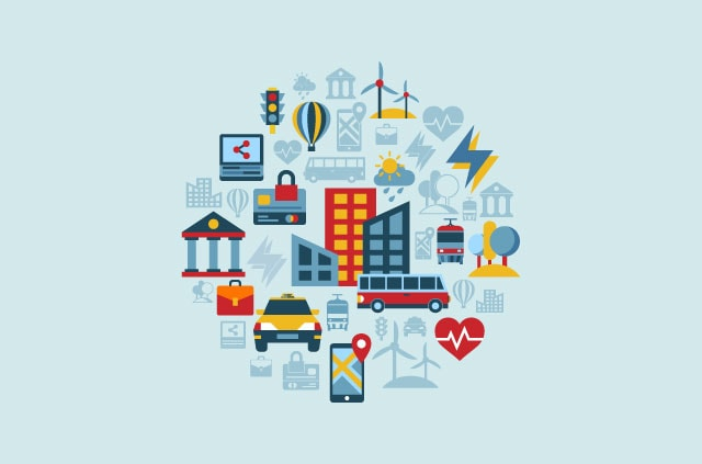 Facilities and services of a smart city