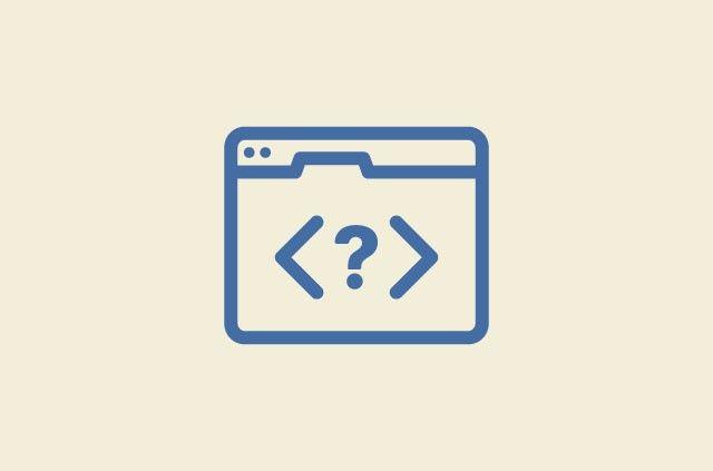 Question mark in html tags displayed by browser tab.