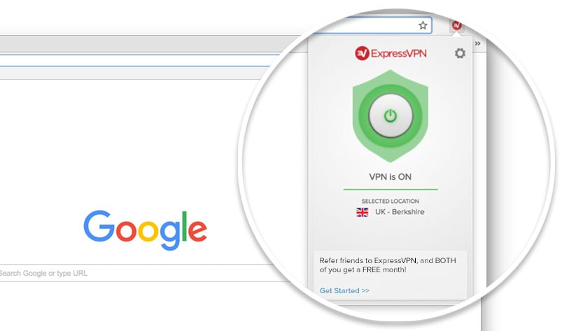 Get the ExpressVPN browser extension for safer surfing