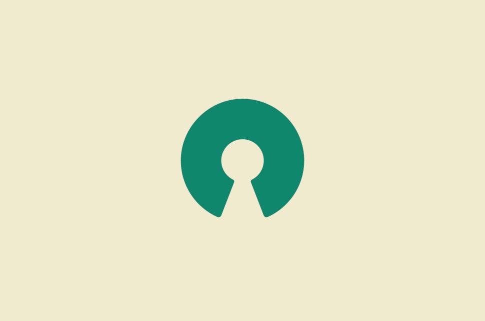 Open Source Initiative logo.