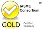 IASME Gold badge