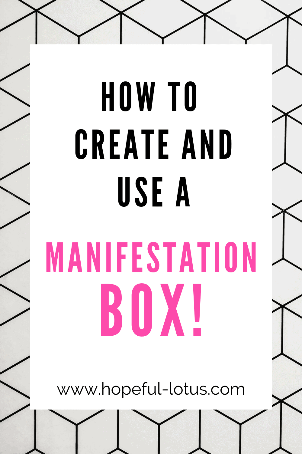 Looking to increase the power of the law of attraction? Why not try creating your own DIY manifestation box? This post is full of ideas to get started with your manifesting journey!