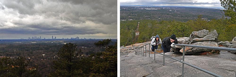 Atlanta Skyline from Stone Mountain