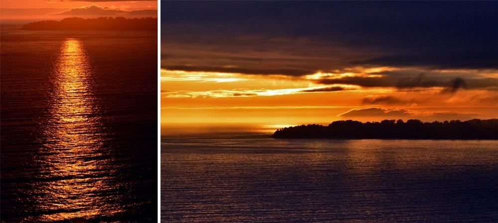 Sunset at Muir Beach Overlook