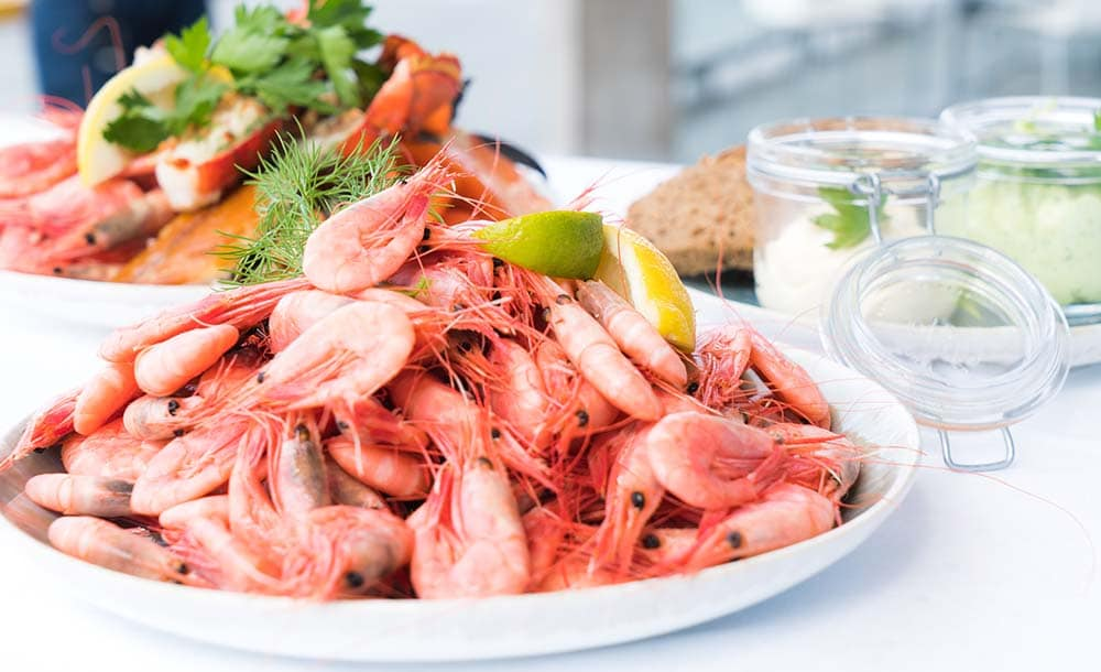Delicious Raw Shrimp Dish