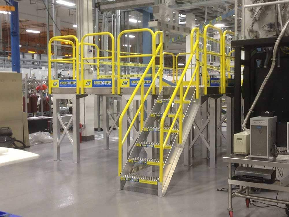 Assembly Access Platform for PECVD