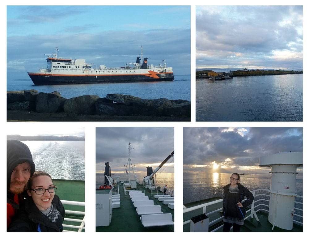 Ferry to West Fjords