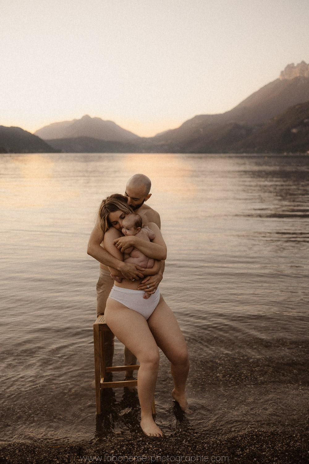 seance bebe intime lac d'Annecy