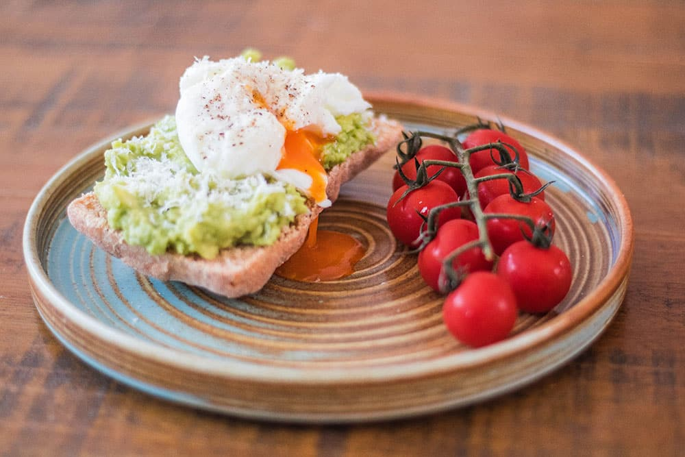 Quick Avocado and Poached Egg On Toast | AmateurChef.co.uk