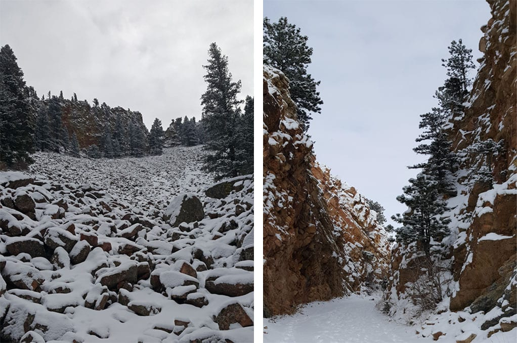 Fowler Trail in Eldorado Canyon