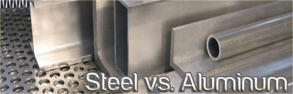 Steel vs Aluminum Metal