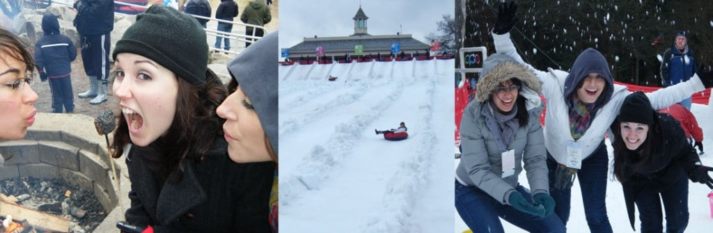 Snow Mountain at Stone Mountain includes lots of fun activities for kids, and adults!
