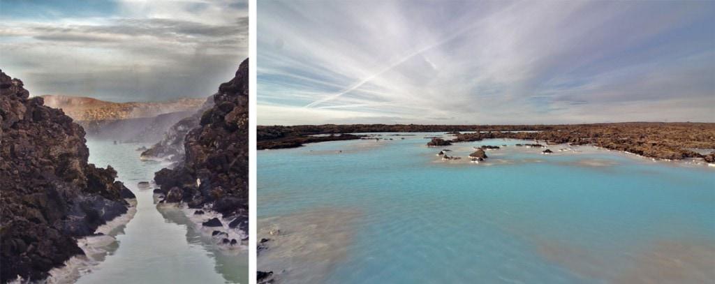 Iceland spa blue lagoon