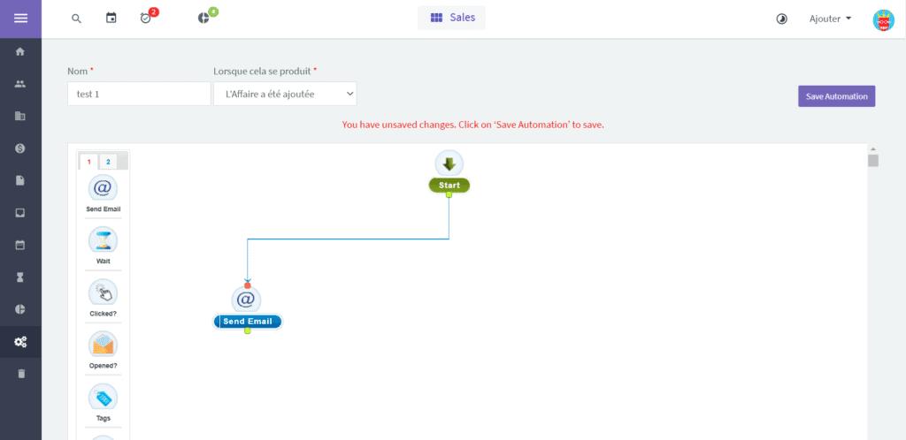 Agile CRM Automation
