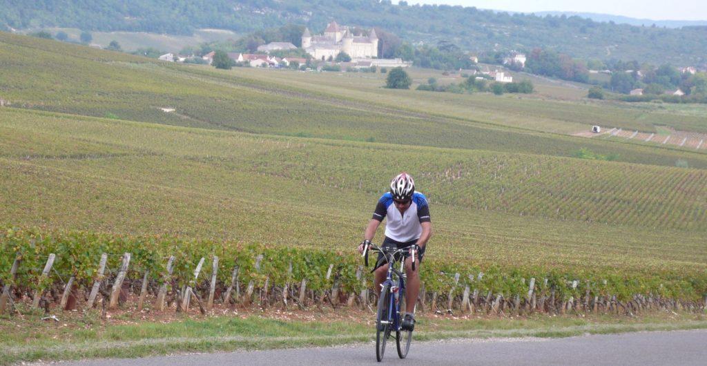 Bourgogne à vélo - voyage vélo - ekilib - sur la route
