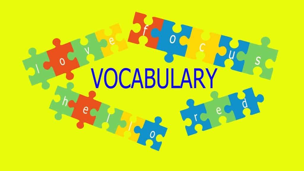 ESL Vocabulary Practice