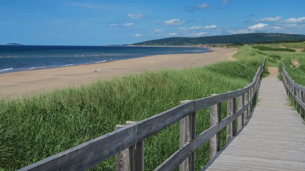 Boardwalk along the Inverness Beach Loop Trial
