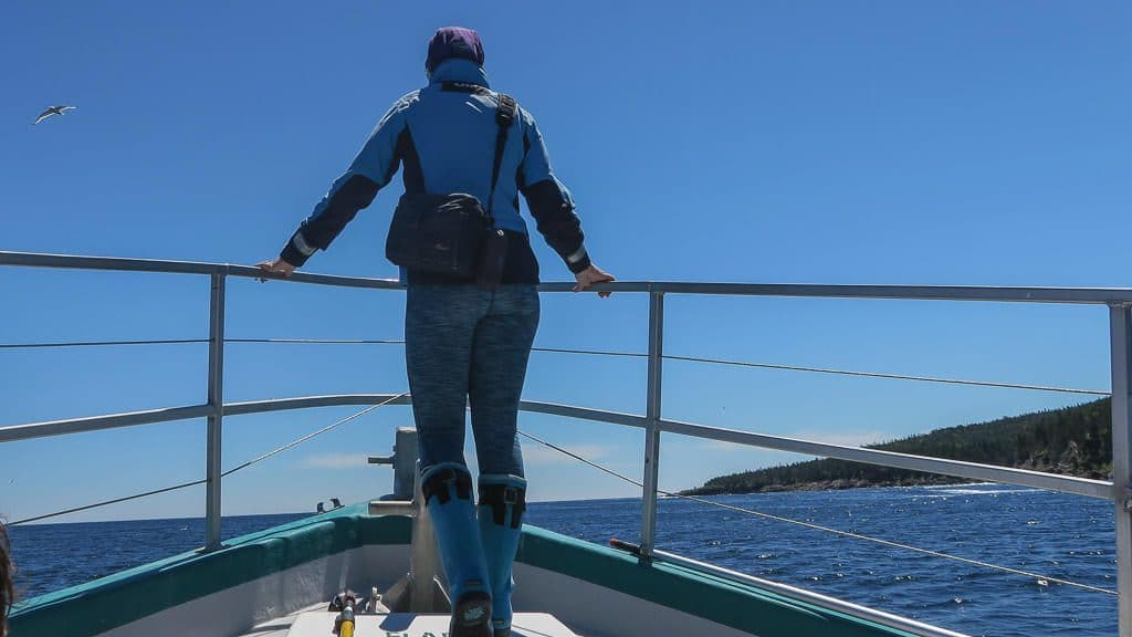 Jeanine the Marine Biologist of Molly Bawn Whale Tour