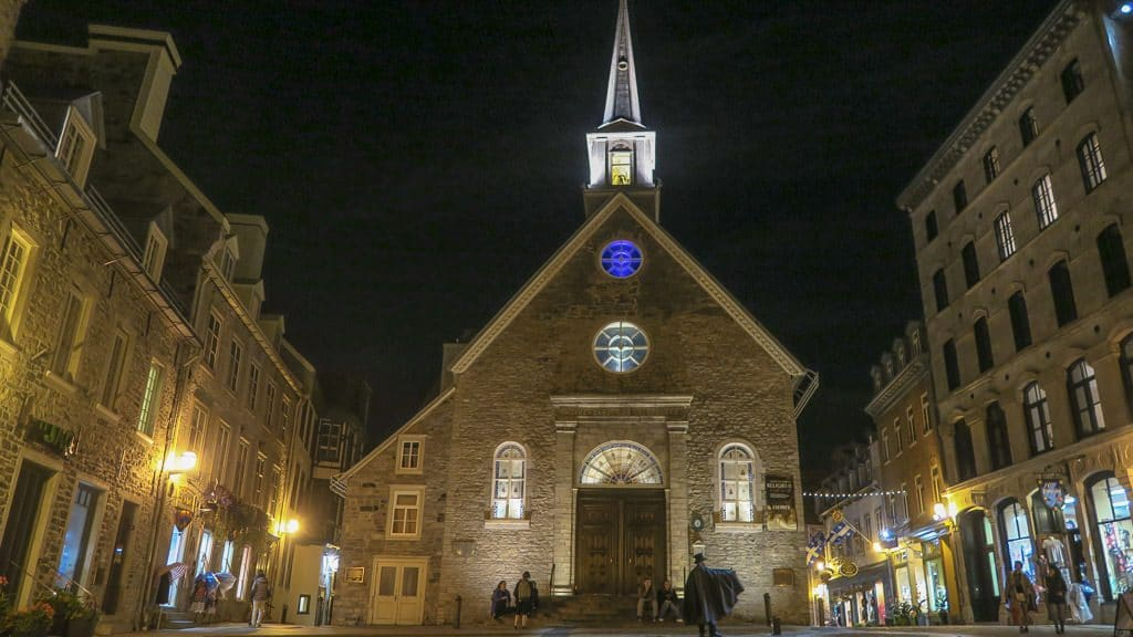 Church in Quebec City