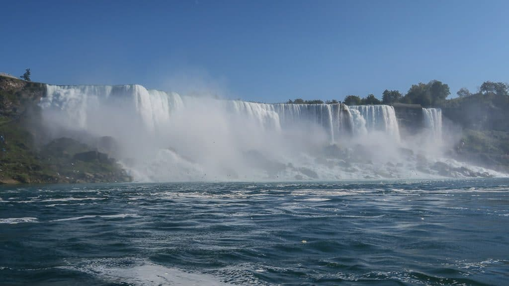 Niagara Falls from the water level