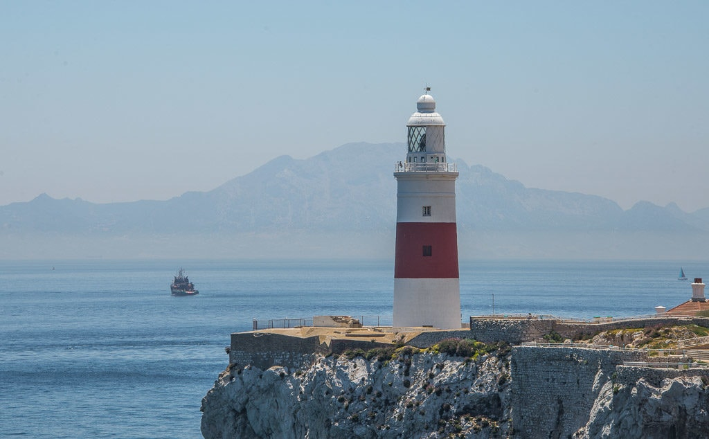 europa point lighthouse on a clear day - photo credit: Gibraltar Tourism