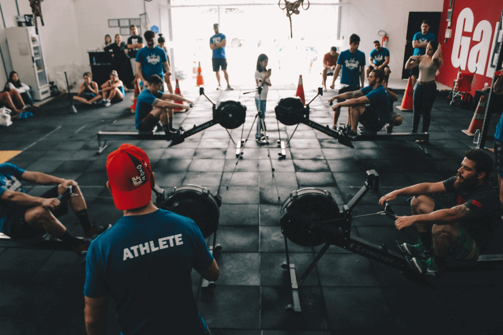 athletes keeping their bodies fit