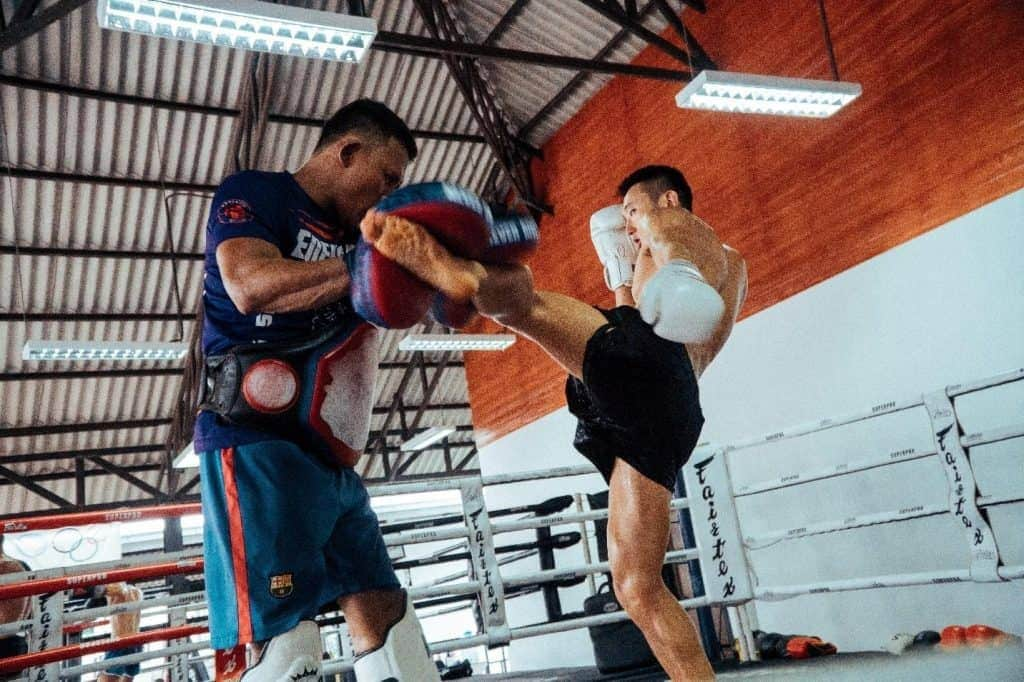 muay thai self defense