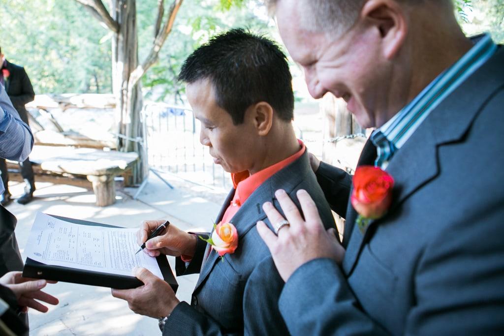Photo 13 Wedding at Cop Cot in Central Park   VladLeto
