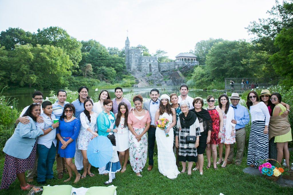 Photo 18 Wedding at Belvedere Castle in Central Park | VladLeto