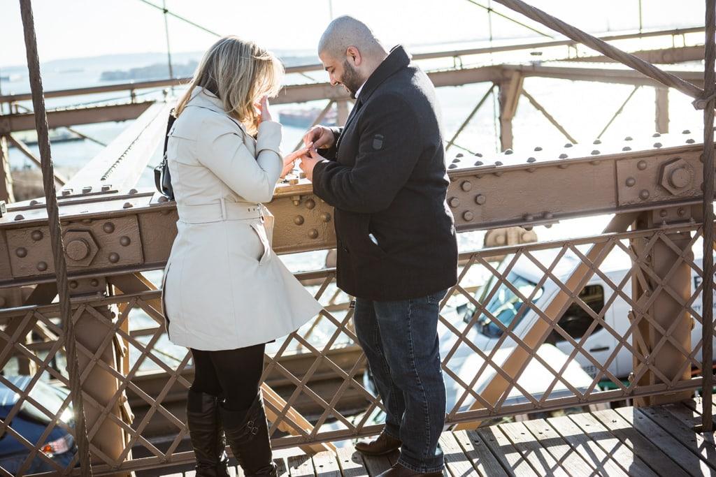 Photo 2 Marriage proposal at Brooklyn bridge   VladLeto