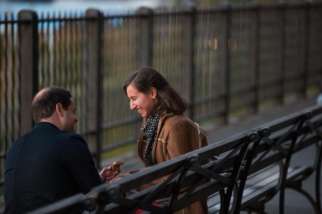 Photo Brooklyn Promenade marriage proposal. | VladLeto