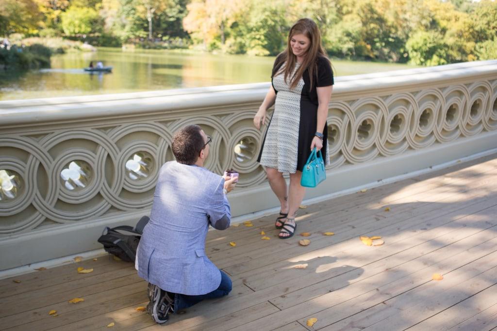 Photo Bow bridge wedding proposal.   VladLeto