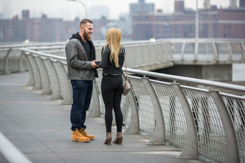 Photo 3 Greenpoint Brooklyn marriage proposal at secret spot. | VladLeto