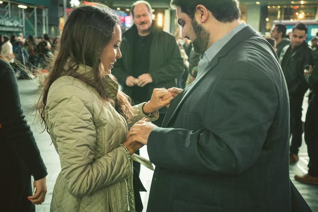 Photo 4 Times Square Marriage proposal New York City | VladLeto