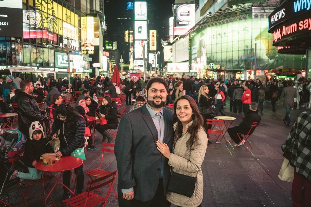 Photo 8 Times Square Marriage proposal New York City | VladLeto