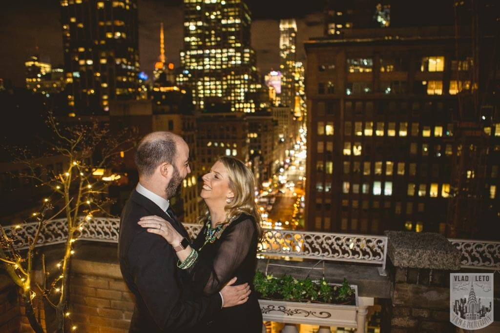 Photo 7 Private Rooftop Proposal with Empire State Building view. | VladLeto
