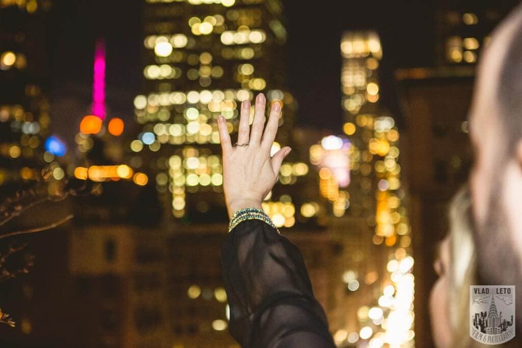 Photo 5 Private Rooftop Proposal with Empire State Building view. | VladLeto