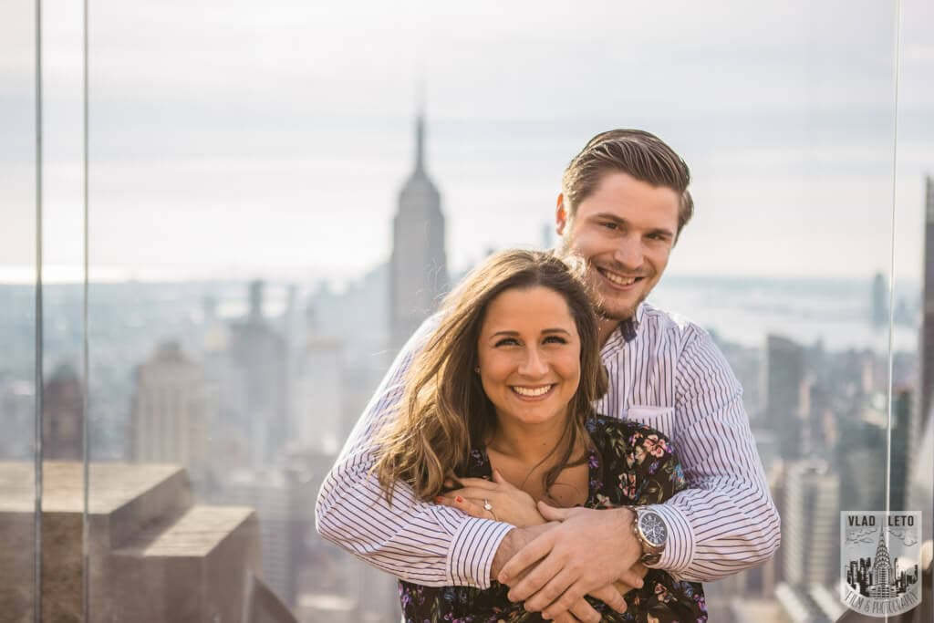 Photo 7 Top of the Rock Marriage Proposal 3   VladLeto