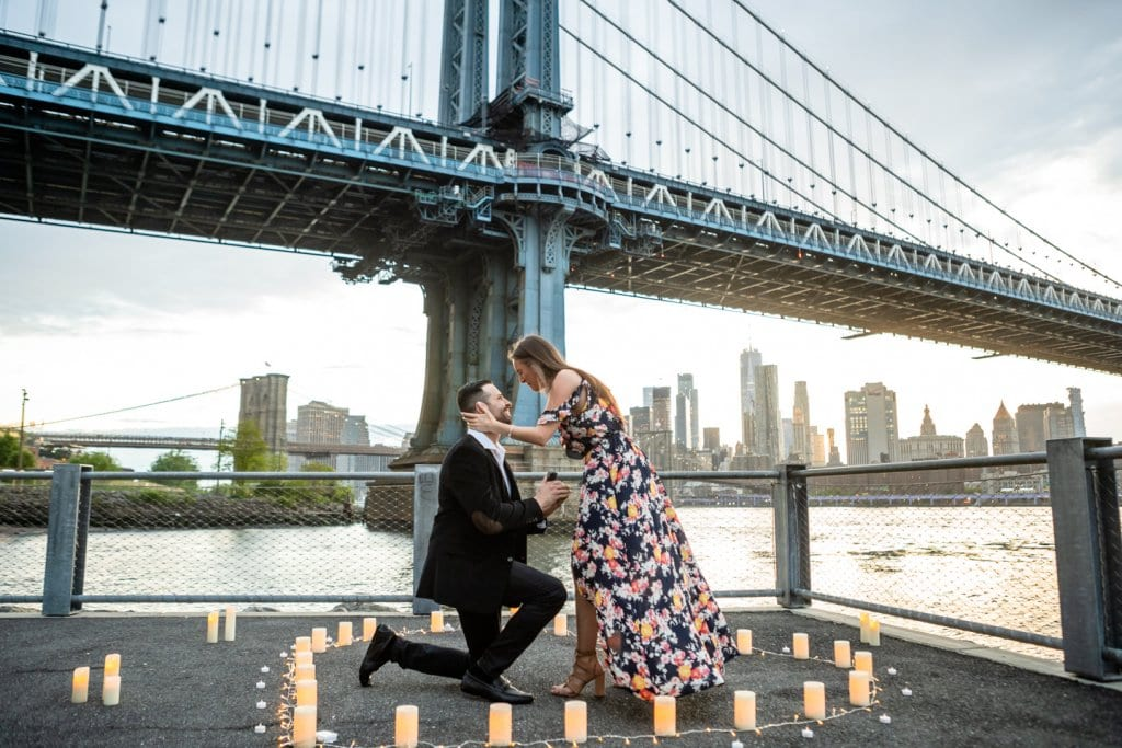 Marriage Proposal Video from dumbo Brooklyn