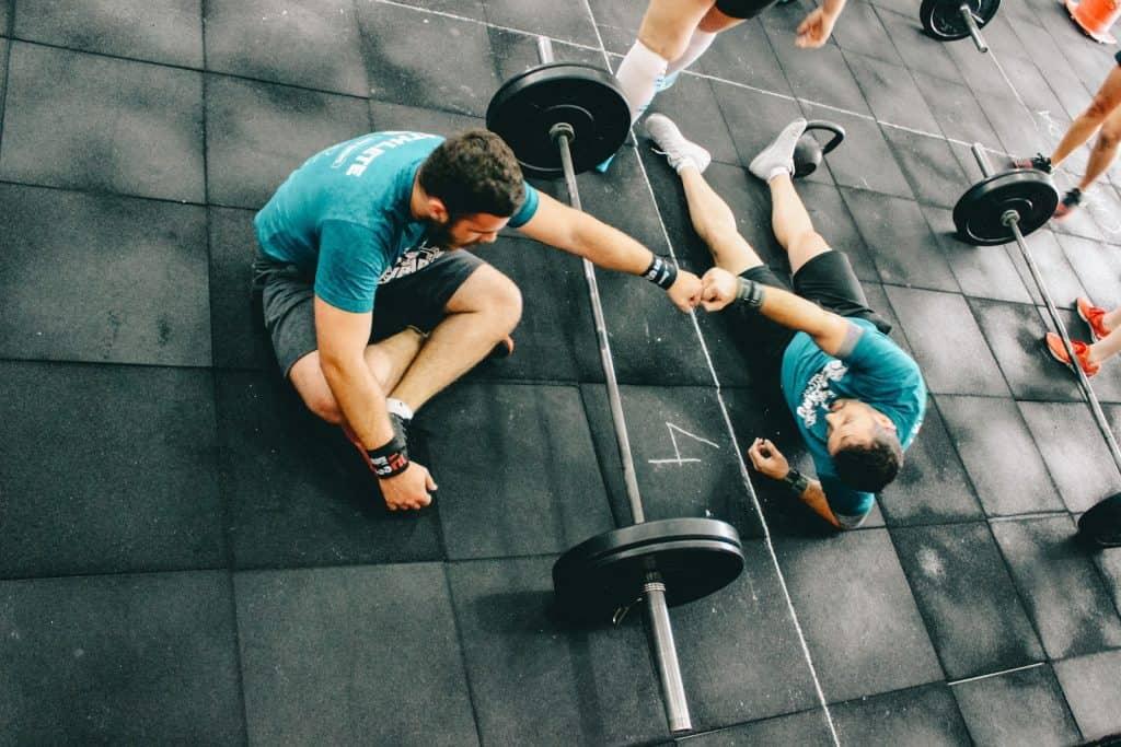 successful fitness trainer