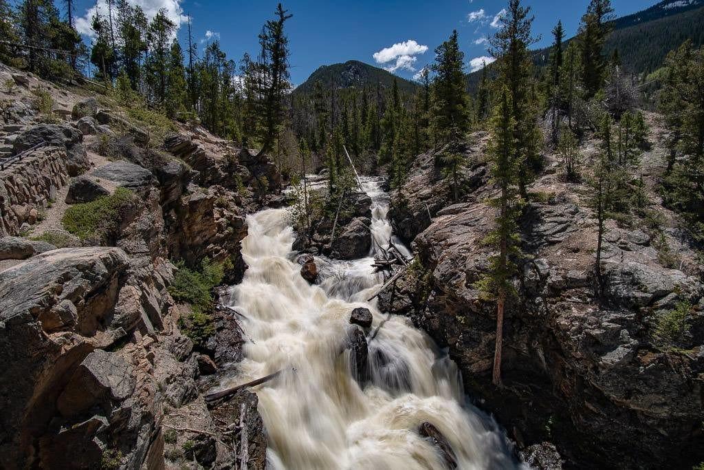 adams falls grand lake rmnp
