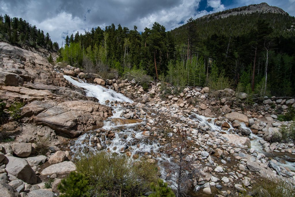 rocky mountain national park alluvial fan